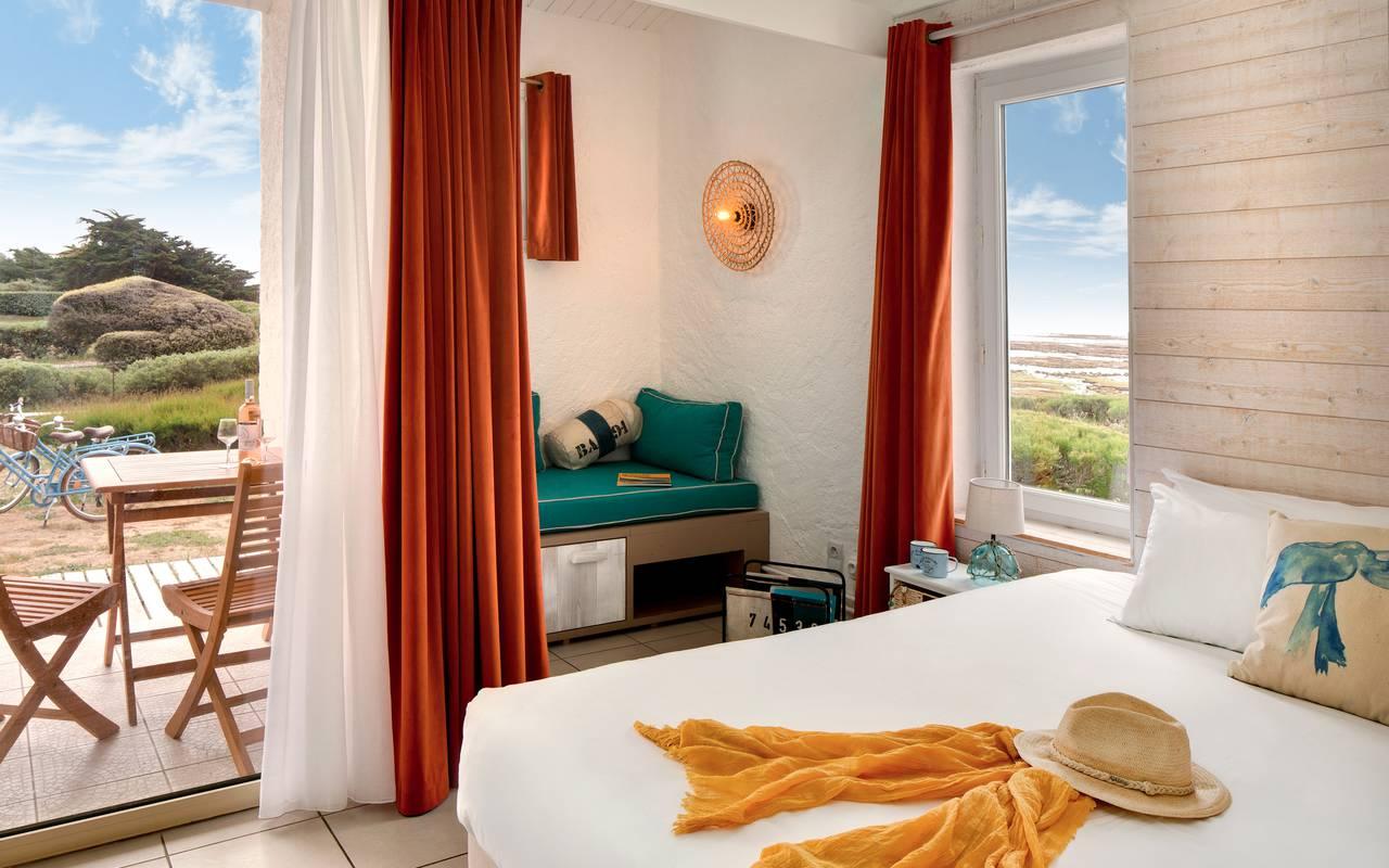 Modern room, hôtel Oléron, Ile de Lumière