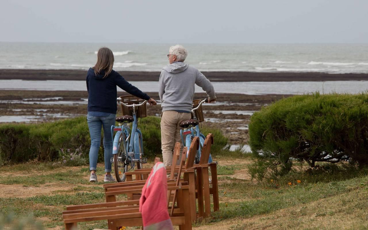 Bicycle ride, weekend Ile d'Oléron, Ile de Lumière