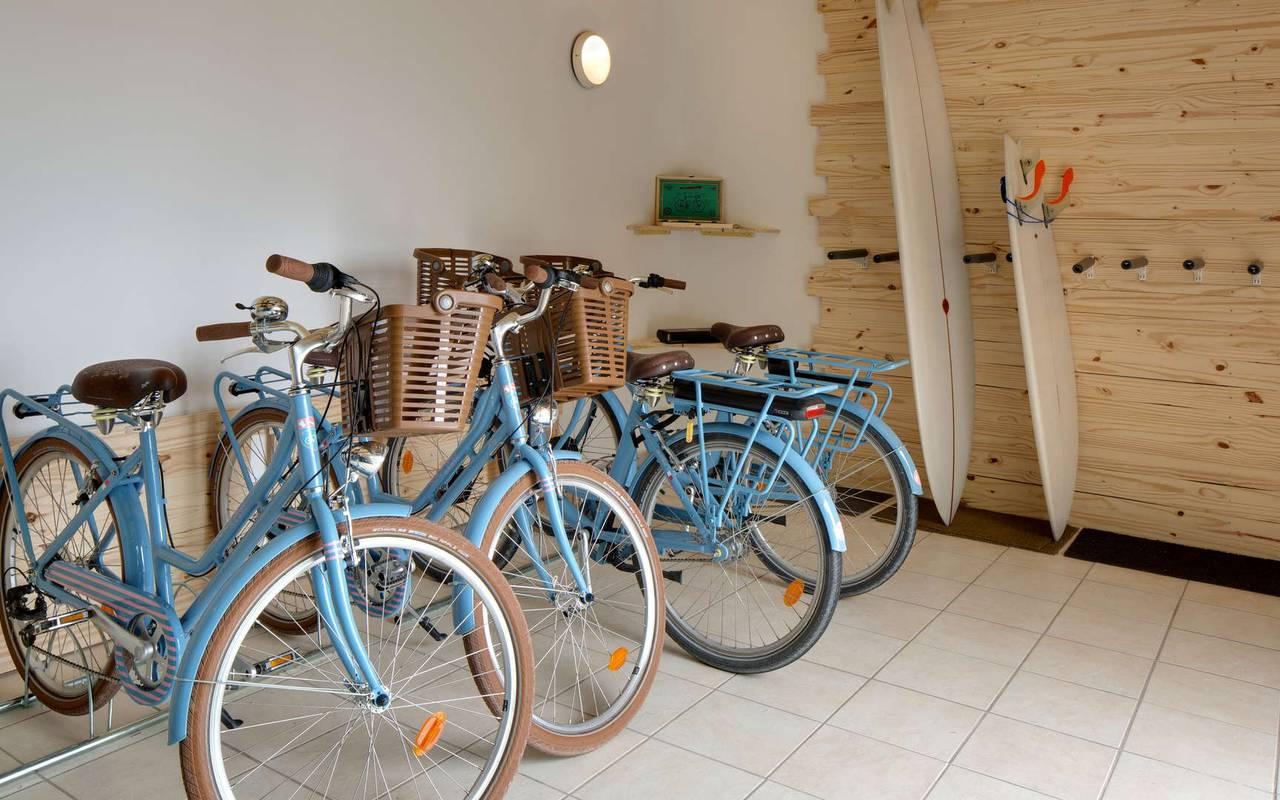 Bicycles, boutique hotel Ile d'Oléron, Ile de Lumière