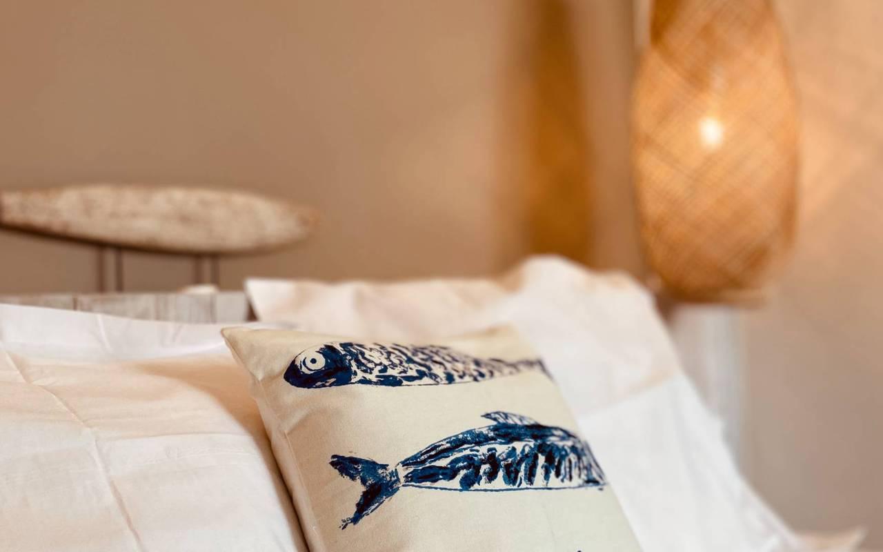 Cushions, hotel La Cotinière, Ile de Lumière
