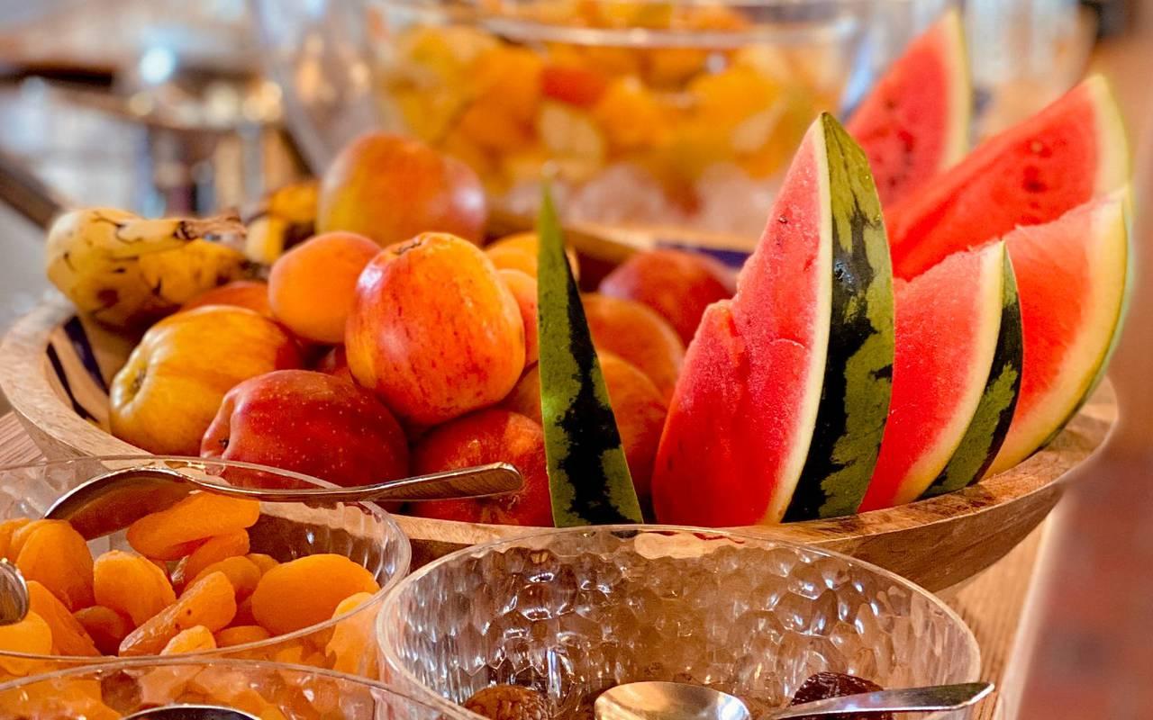 Fruits, hotel Ile d'Oléron, Ile de Lumière
