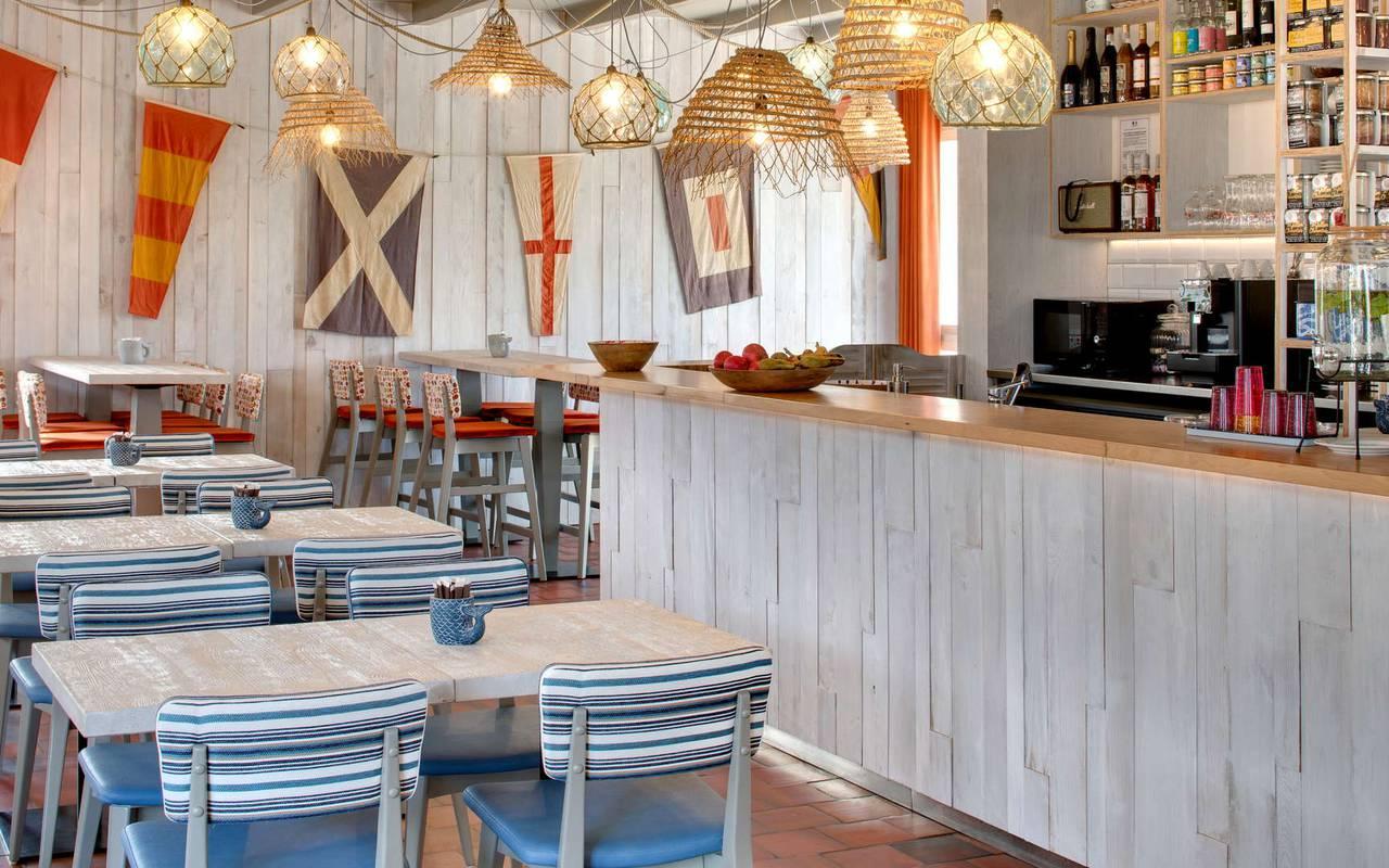 Bar, hôtel La Cotinière Ile d'Oléron, Ile de Lumière