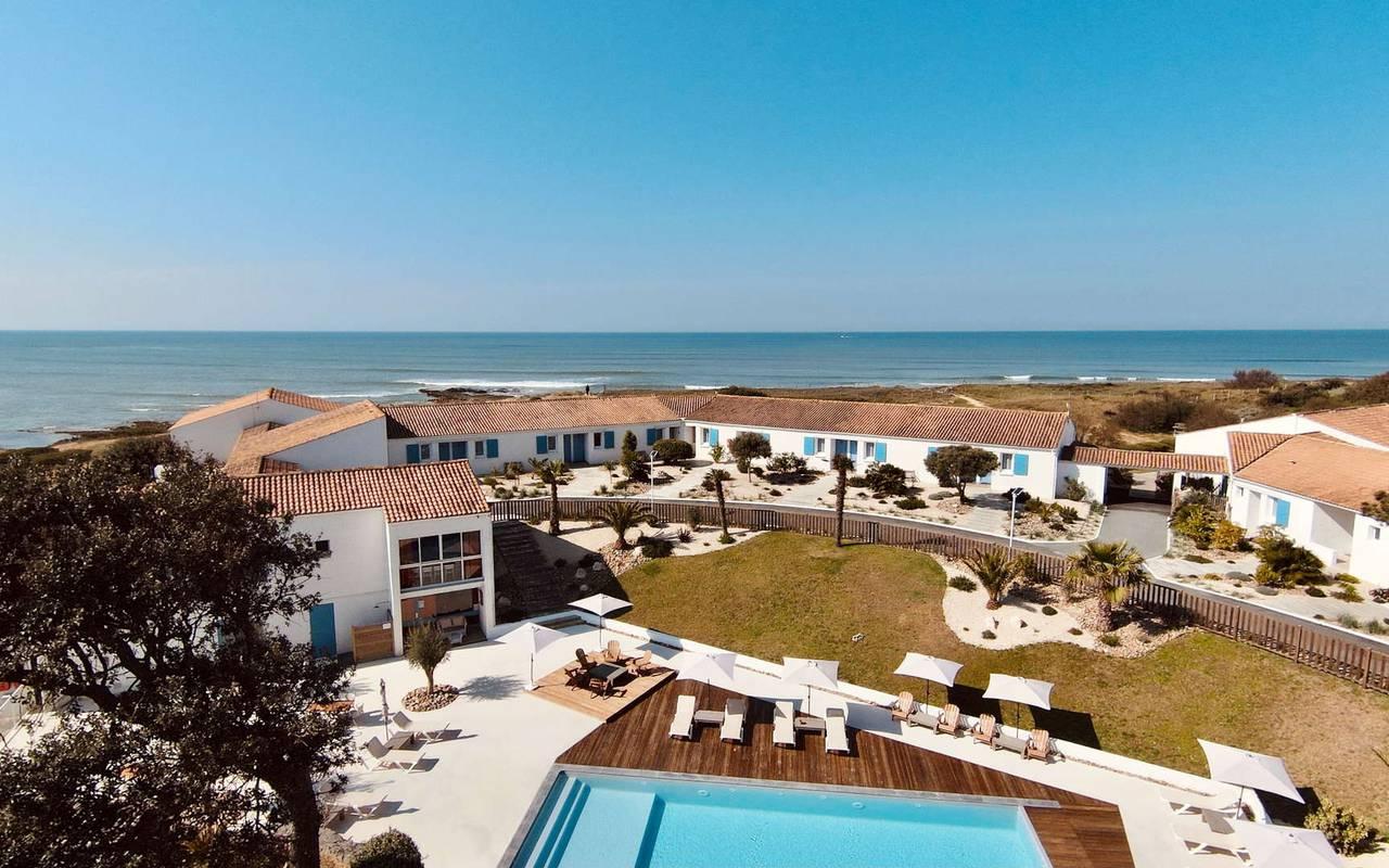 Hôtel avec piscine, séjour Ile d'Oléron, Ile de Lumière